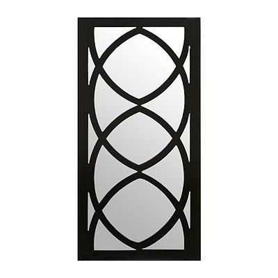 McKenzie Black Decorative Mirror, 12x24