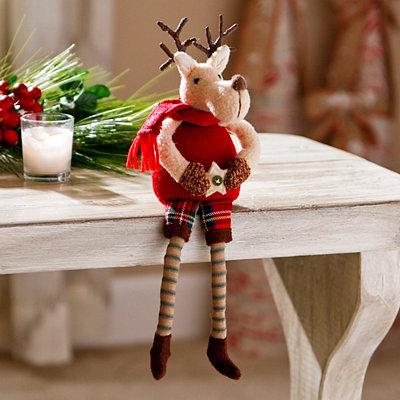 Reindeer Boy Shelf Sitter