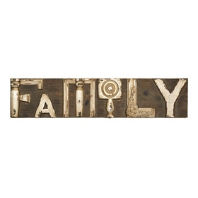 Family Decorative Wooden Plaque
