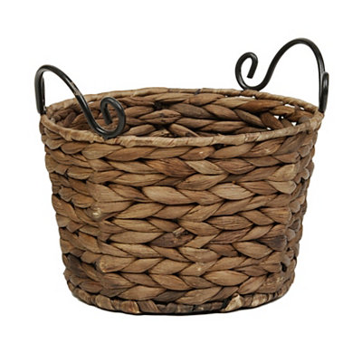 Round Woven Basket, Small