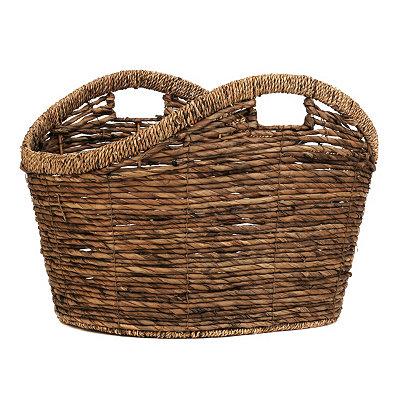 Rattan Tote Basket