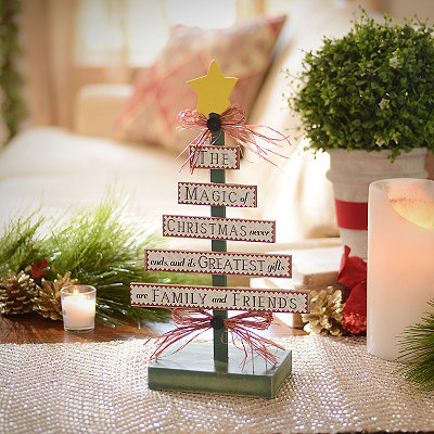 Magic of Christmas Tree Statue