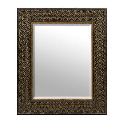 Ornate Tortoise Framed Mirror, 33x39