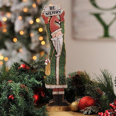 Be Merry Santa Statue