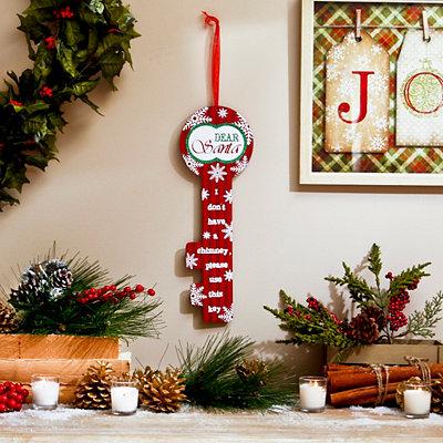 Dear Santa Wooden Key