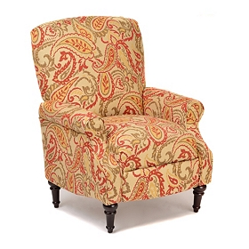 Summer Spice Paisley Recliner