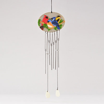 Colorful Birds Wind Chime