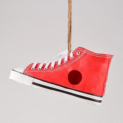 Red Sneaker Birdhouse