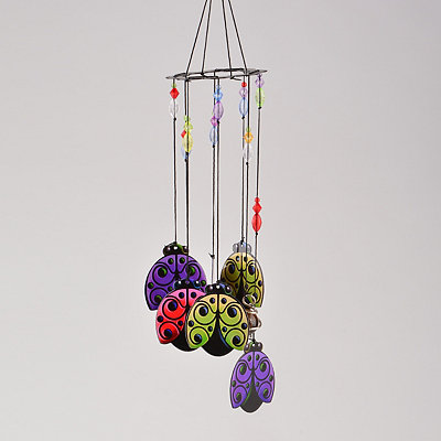 Lady Bugs Wind Chime