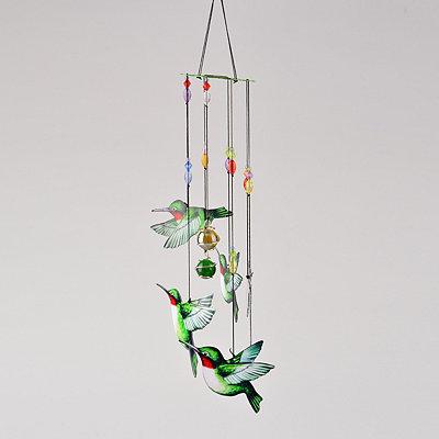 Hand-painted Hummingbird Wind Chime