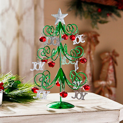 Green Metal Joy Tree