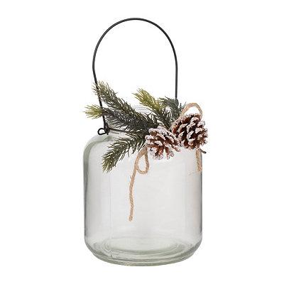Large Pine Cone Lantern