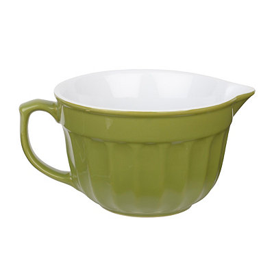 Green Farmhouse Mixing Bowl