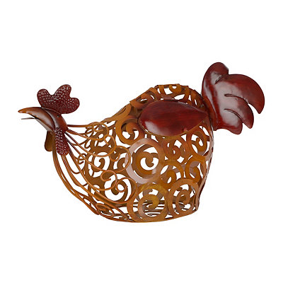 Sitting Rooster Cork Holder