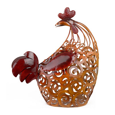 Standing Rooster Cork Holder