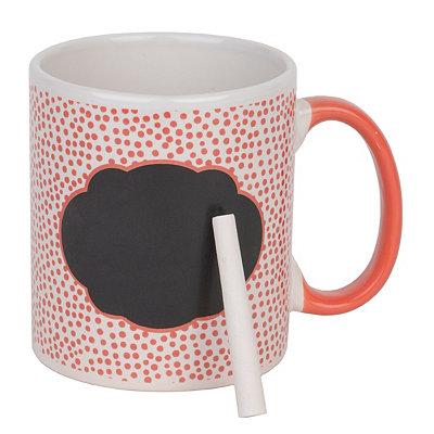 Red Farmhouse Chalkboard Mug