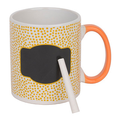 Yellow Farmhouse Chalkboard Mug