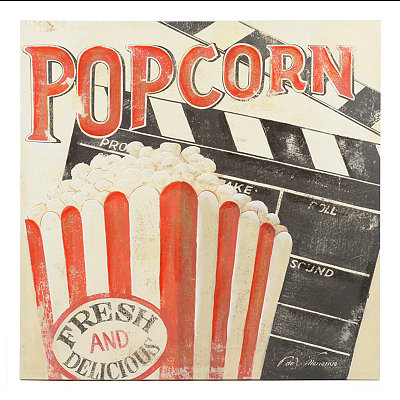 Fresh Popcorn Canvas Art Print