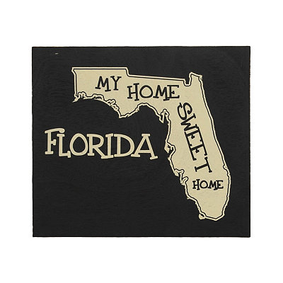 Florida Home Sweet Home Plaque