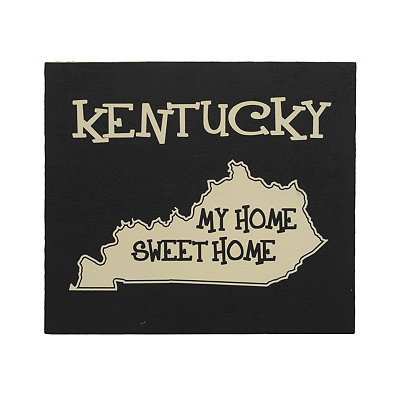 Kentucky Home Sweet Home Plaque