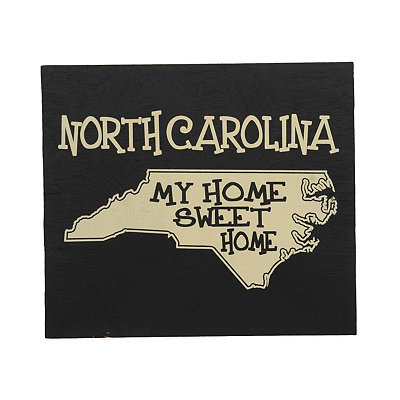 North Carolina Home Sweet Home Plaque