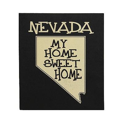 Nevada Home Sweet Home Plaque