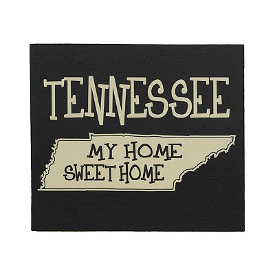 Tennessee Home Sweet Home Plaque