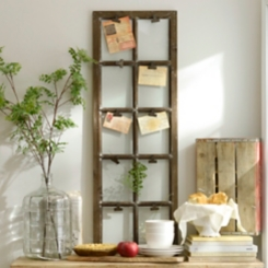 Distressed Window Pane Clip Collage Frame