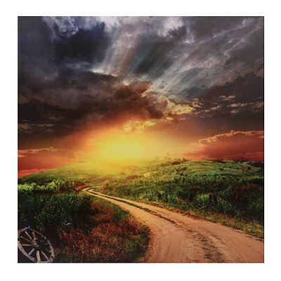 Country Sunset Canvas Art Print
