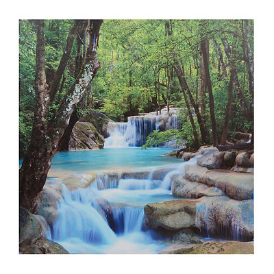 Erawan Waterfall Canvas Art Print