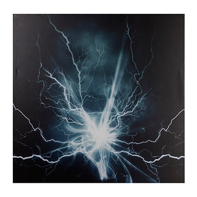 Lightning Effect Canvas Art Print