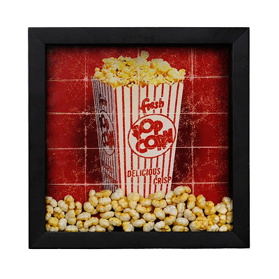 Fresh Popcorn Shadowbox