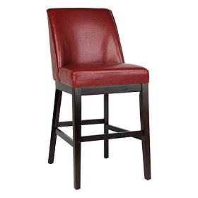 Sondra Red Bar Stool