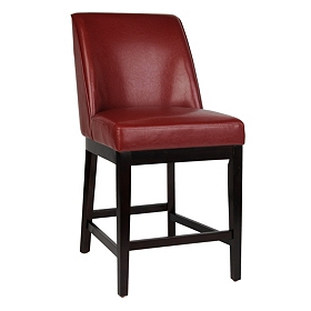 Sondra Red Counter Stool