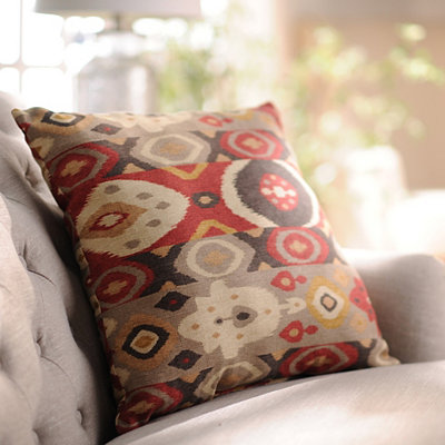 Southwestern Ikat Pillow