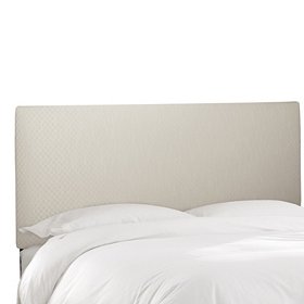 Hudson Snow Queen Headboard