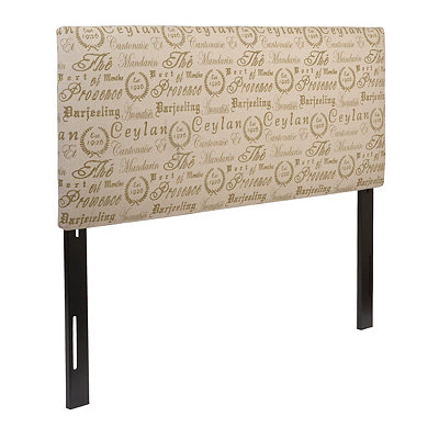 Tea House Green Queen Headboard