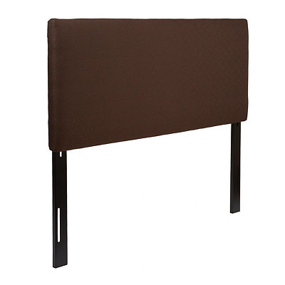 Chevron Espresso King Headboard