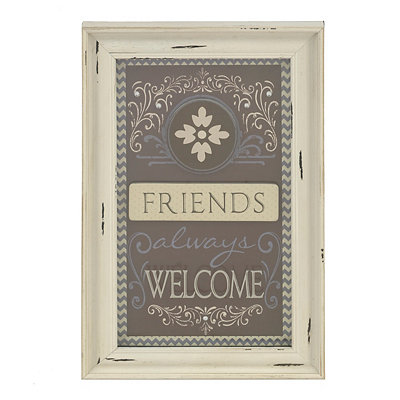 Friends Always Welcome Shadowbox
