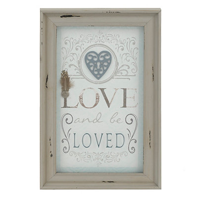 Love and Be Loved Shadowbox