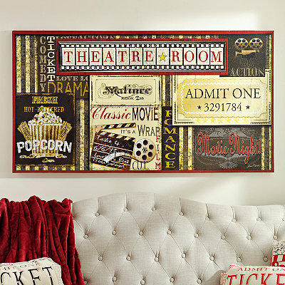 Theatre Room Canvas Art Print