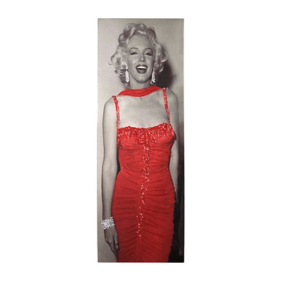 Marilyn Monroe Glitter Canvas Art Print