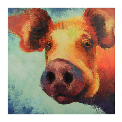Benton Up Close & Personal Canvas Art Print