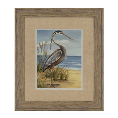 Shore Birds I Framed Art Print