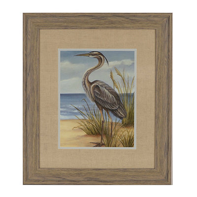 Shore Birds II Framed Art Print