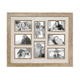 Natural Driftwood Collage Frame