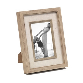 Natural Driftwood Picture Frame, 4x6