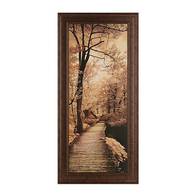 Pathways I Framed Art Print