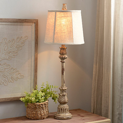 Classic Cream Buffet Lamp