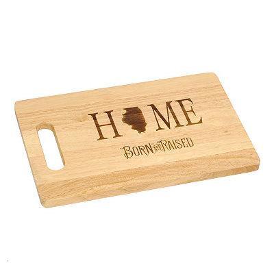 Illinois Home Cutting Board